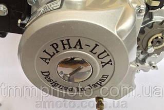 Двигатель 125 куб DELTA , ALFA , ACTIVE -125см3 ( механика) алюминиевый цилиндр Альфа люкс, фото 2