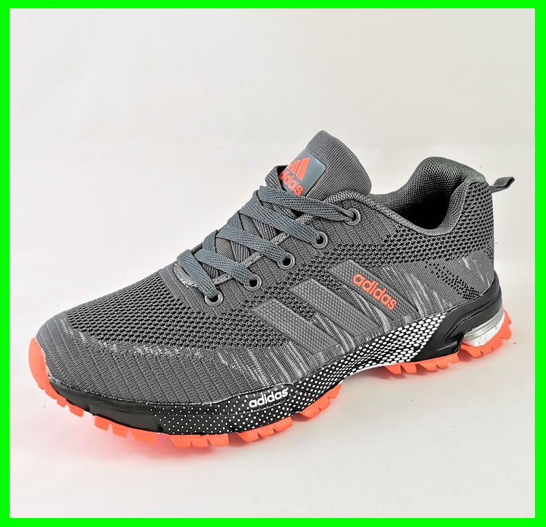Кроссовки Adidas Fast Marathon Серые Мужские Адидас (размеры: 41,42,43,44,45,46) Видео Обзор