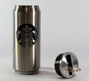 Термокружка Starbucks 350мл Термос (ВидеоОбзор)Термокружки кружки в металлическом корпусе.