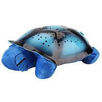 Проектор Звездное небо Черепаха (СИНИЙ)