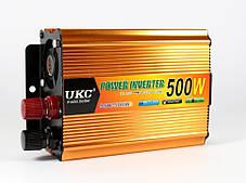 Преобразователь 500W Инвертор с 24в на 220в, фото 2