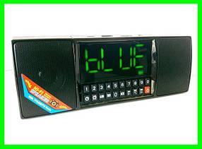 Bluetooth-FM-Колонка с Будильником и Большим LCD Экраном
