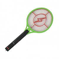 Электрическая мухобойка в виде ракетки на аккумуляторе Bug Catcher