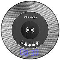 Портативная Bluetooth колонка Awei Y290 с функцией беспроводной зарядки QI