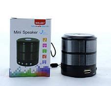 Мобильная Bluetooth-FM-Колонка - 887 (Видео Обзор), фото 2