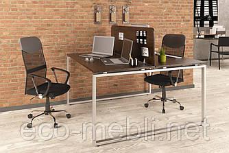 Письмовий стіл для дому та офісу Q-140 Loft Design подвійний
