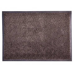 Решіток килимок волого і грязе вловлюючі розрізний ворс 85х120х0,11см Premium коричневий