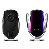 Держатель Smart Sensor Car Wireless Charge R1