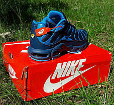 Мужские кроссовки синие Nike Air Max Plus OG Синие Найк  Кроссовки мужские найк Видео Обзор, фото 3