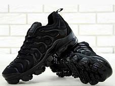 Мужские Кроссовки Nike Air VaporMax Plus Чёрные Найк Мужские кроссовки NIKE Кроссовки Видео Обзор, фото 2