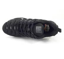 Мужские Кроссовки Nike Air VaporMax Plus Чёрные Найк Мужские кроссовки NIKE Кроссовки Видео Обзор, фото 3