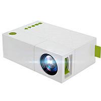 Мини мультимедийный видеопроектор YG-310 с аккумулятором