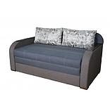 Небольшой диван-кровать для ежедневного сна РЕЛАКС. Диван 2-х местный выкатной  раскладной Коричневый малютка, фото 3