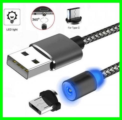 Магнитный Шнур Кабель для зарядки телефонов и планшетов USB - Type-C