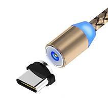 Магнитный Шнур Кабель для зарядки телефонов и планшетов USB - Type-C, фото 2