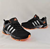 Кроссовки Adidas Fast Marathon Чёрные Мужские Адидас (размеры: 41,44,45) Видео Обзор, фото 2