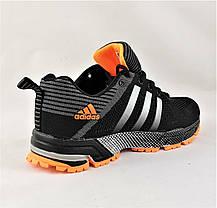 Кроссовки Adidas Fast Marathon Чёрные Мужские Адидас (размеры: 41,44,45) Видео Обзор, фото 3