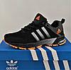 Кроссовки Adidas Fast Marathon Чёрные Мужские Адидас (размеры: 41,44,45) Видео Обзор, фото 4