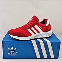 Кроссовки Мужские Adidas Iniki Runner Boost Красные Адидас Мужские кроссовки Adidas Iniki Видео Обзор, фото 3