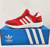 Кроссовки Мужские Adidas Iniki Runner Boost Красные Адидас Мужские кроссовки Adidas Iniki Видео Обзор, фото 4