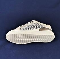 Женские Кроссовки Слипоны Белые Мокасины (размеры: 36,37,38,39,40,41), фото 2