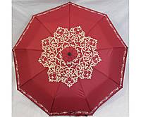 Зонт-полуавтомат женский складной от дождя Антиветер 3 сложения MARIO UMBRELLA, фото 1