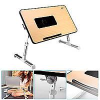 Деревянный столик для ноутбука laptop edesk H2