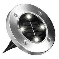 Уличный светильник Disk lights 4 штуки 4 led