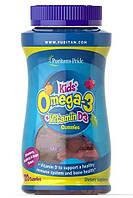 Рыбий Жир Для Детей (Жевательный ) Puritan's Pride Kids Omega-3 Vitamin D3 120 Gummies
