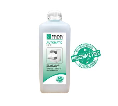 Концентрированный гель Средство моющее для посудомоечных машин ФАДА автомат гель(FADA automatic gel) 1 литр., фото 2