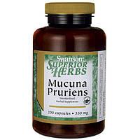 Swanson mucuna pruriens 350 мг 200 капс