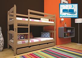 Кровать детская Трансформер 3 80х190 см Тис