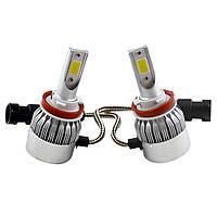 Комплект LED ламп HeadLight C6 H11 12v COB