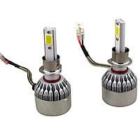 Комплект LED ламп HeadLight C6 H1 12v COB