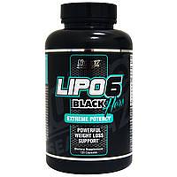 Nutrex Lipo-6 Black Hers 120 black-caps комплексный жиросжигатель для быстрого похудения