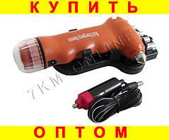 Аварийный молоток + фонарик + инструмент DK-11