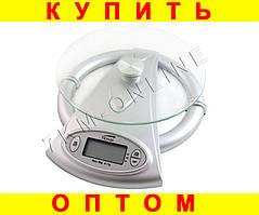 Стильные кухонные весы Стекло ATK-613