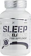 Biotech USA Sleep Pre-Melatonin 60 таб улучшение сна, восстановление