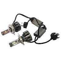 Комплект светодиодных LED ламп Xenon T6-H11 Ксенон