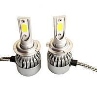 Комплект светодиодных LED ламп Xenon RS H7 Ксенон