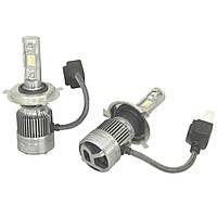 Комплект светодиодных LED ламп Xenon RS H4 Ксенон
