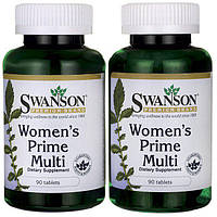 Swanson Women's Prime Multivitamin 90капсул