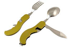 Многофункциональный нож, Мультитул Вилка Ложка ( 55 )