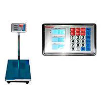 Торговые весы Domotec ACS 600kg 45*60 Fold 6V Усиленная площадка