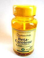 PP Beta-Carotene Provitamin A 3000 mcg, 100 softgels