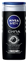 Гель для душа для мужчин Nivea Сила Угля 250 мл