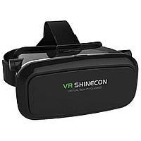 Шлем виртуальной реальности с пультом VR BOX (черный)
