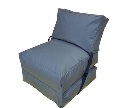 Бескаркасное кресло раскладушка, фото 2
