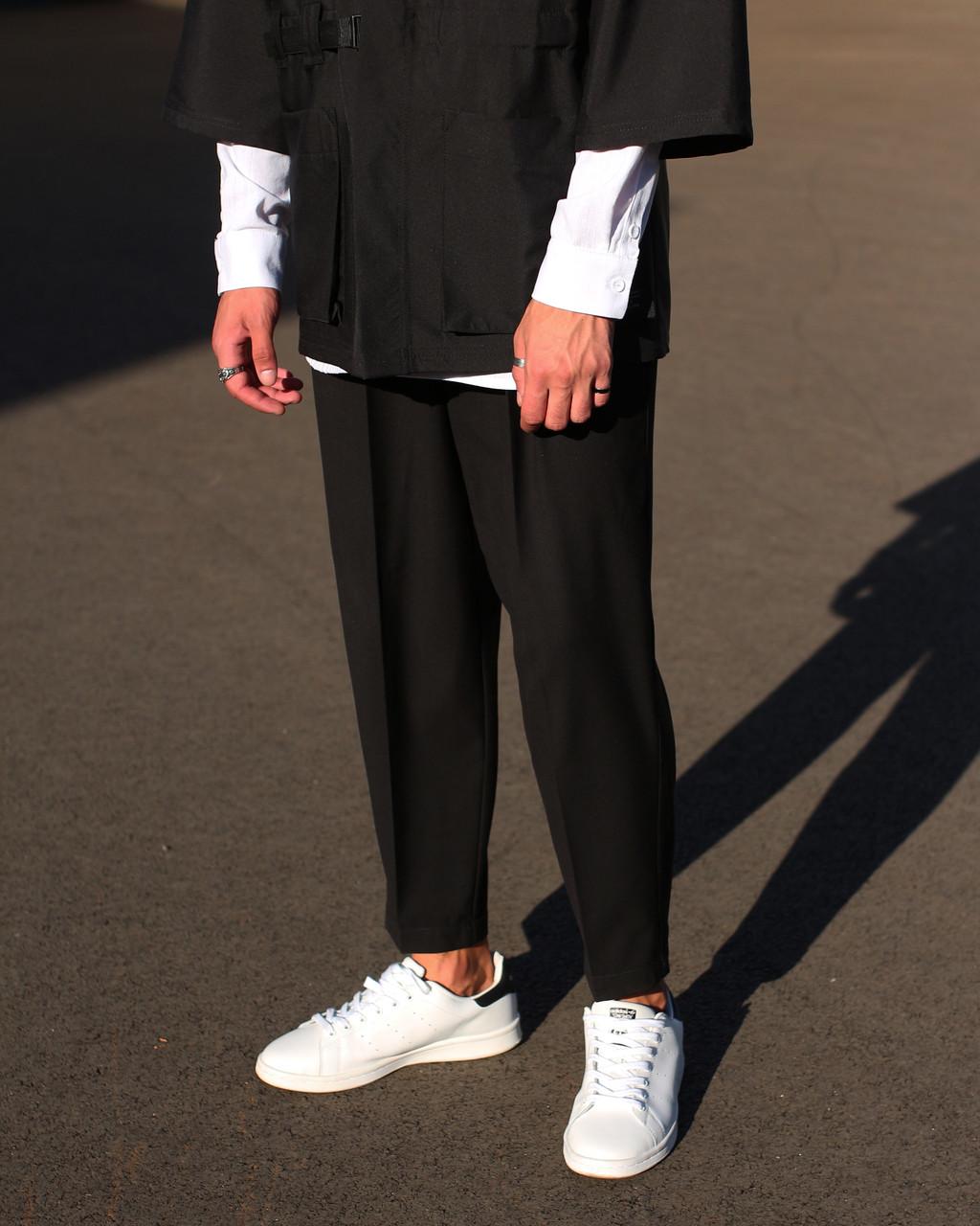 Брюки  черные мужские бренд ТУР модель Окава