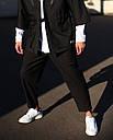 Брюки  черные мужские бренд ТУР модель Окава размер S, M, L, XL, фото 2